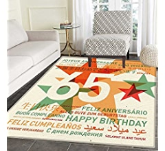 Amazon.com: 70s Party Decorations small rug Carpet Music ...