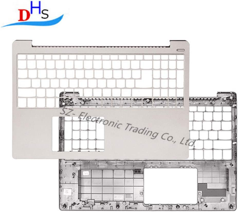 New Replacement for Lenovo Ideapad 330S-15 330S-15ARR 330S-15AST 330S-15IKB xiaoxin 7000-15 Palmrest Upper Case Keyboard Bezel Cover Silver 2018