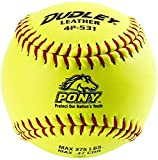 Dudley 11'' Pony League Leather Fastpitch Softball
