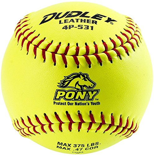Dudley 11'' Pony League Leather Fastpitch Softball by Douglas