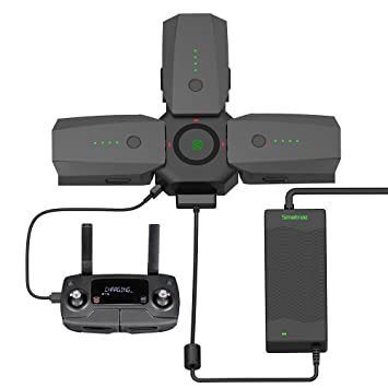 Smatree Rapid Battery Charger And Charging Hub For DJI Mavic Pro Platinum 80W Power Adapter