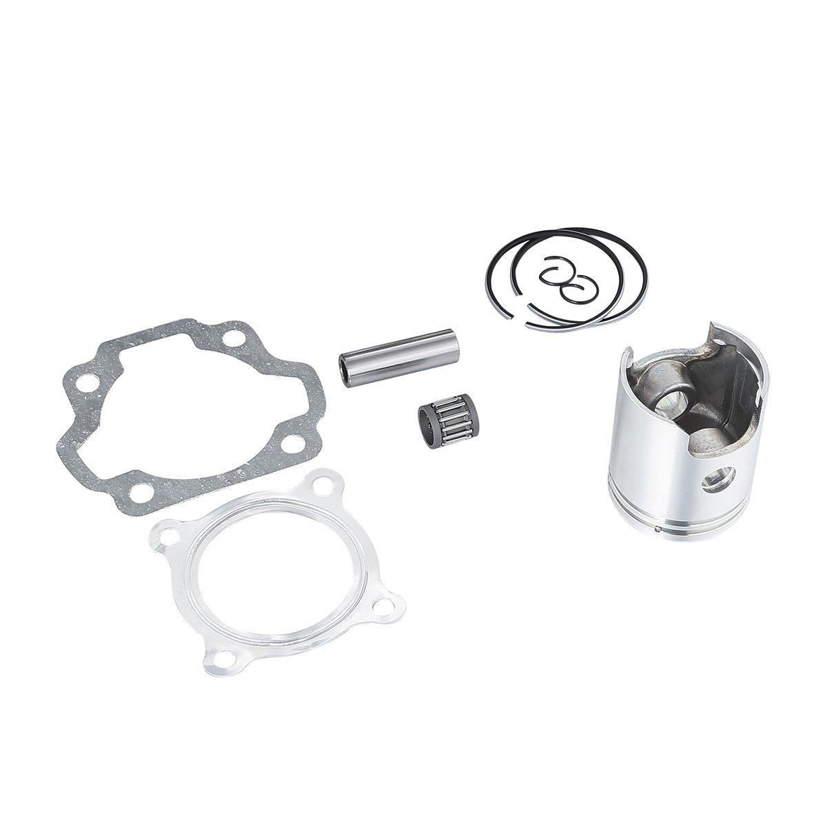 XMT-MOTO For 1983-2006 YAMAHA PW80 Y-Zinger Engine Cylinder Piston Ring Head Gasket Kit OEM Part: 3E5-11631-00-97