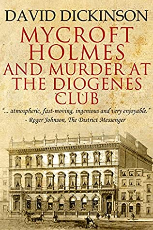 book cover of Mycroft Holmes and Murder at the Diogenes Club