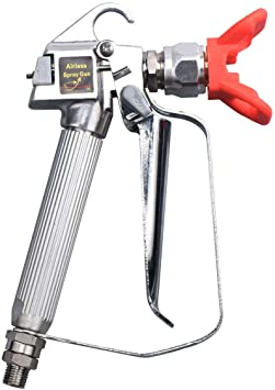 Airless Paint Gun Sprayer 3600psi High Pressure With Spray Tip /& Guard Tool