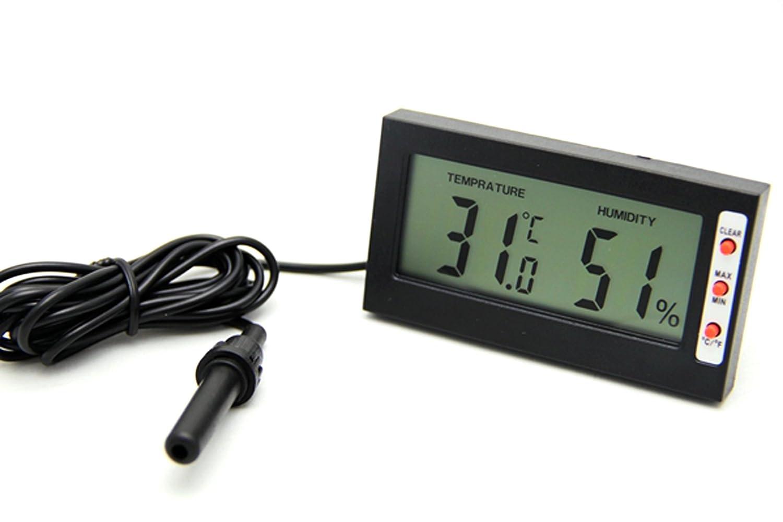 Reptech hygromètre Digital Thermo- avec mémoire, capteur externe DHT002