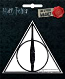 Ata-Boy Harry Potter Die-Cut Deathly Hallows Magnet for Cars, Refrigerators and Lockers
