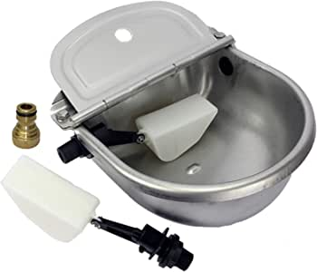 Automatic Water Trough Stainless Steel Sheep Dog Chicken Cow Auto Fill Bowl
