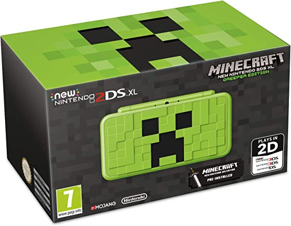 New Nintendo 2DS XL Creeper Edition + Minecraft: New Nintendo 3DS Edition - Limited: Amazon.es: Videojuegos