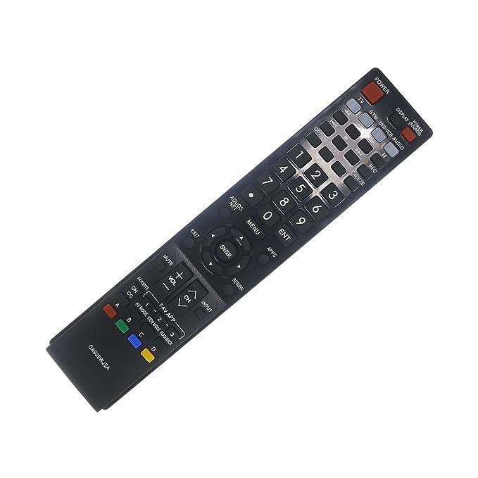GA935WJSA Replace Remote fit for Sharp AQUOS TV LC-70LE734U LC ...