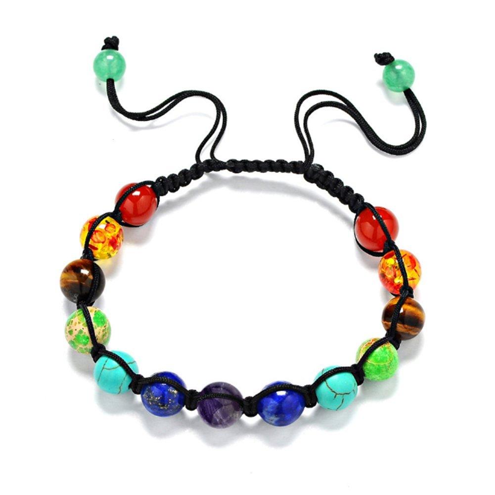 hecho a mano mano cadena colgante joyas desgaste Diario accesorios nikgic perlas multicolor piedra natural pulsera DIY Mujeres ajustables