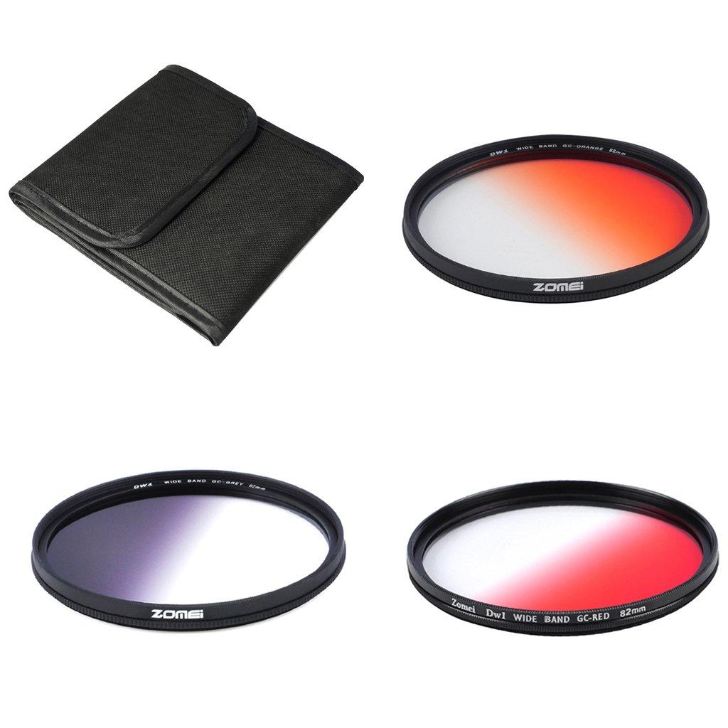 monkeyjack 82 mm HD超スリム光学ガラスニュートラル密度NDフィルタセットfor DSLR   B076D7G4N9