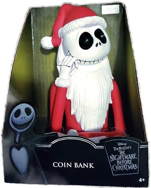 Jack Skellington Molded Bust Bank Figure Coin Bank Nightmare Before Christmas