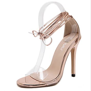 De Transparentes Zapatos Pvc Primavera Mujer Gaolixia Verano q3Aj5Rc4LS