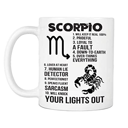 Amazon Scorpio You Lights Out Birthday Pride Gifts For Men