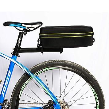 Amazon.com: Bolsa trasera rígida para bicicleta de montaña ...