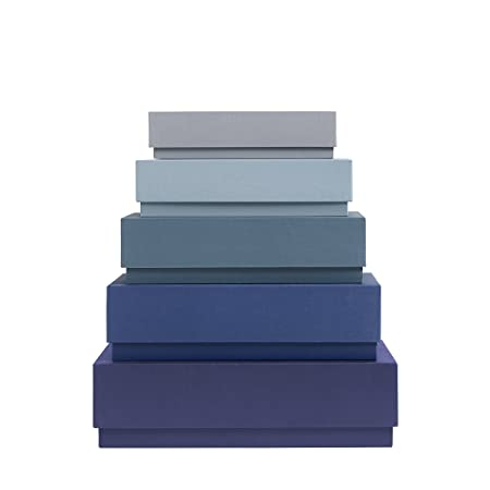 Hay Box Desktop Storage Blue