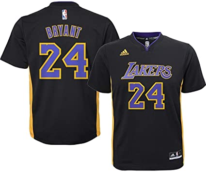 "3cc4c28bfc5 adidas Los Angeles Lakers Kobe Bryant #24 ""Hollywood Nights""  Pride Replica Jersey"