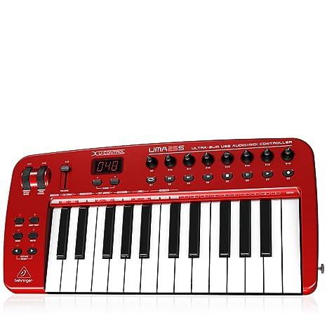 Behringer UMA25S - Teclado MIDI (USB, 460 x 220 x 46 mm, 2200