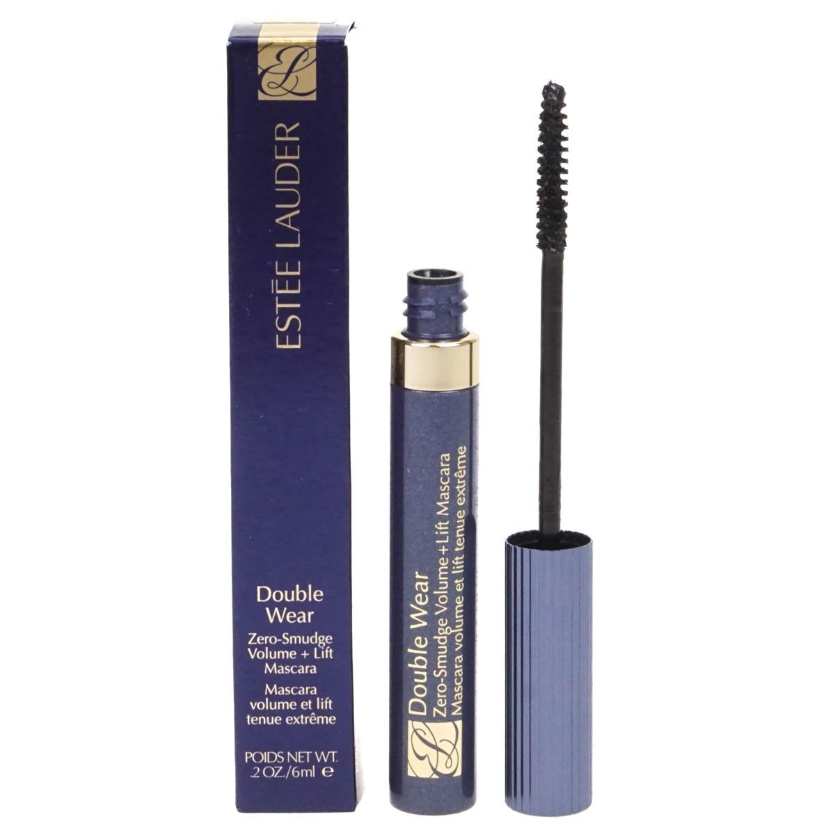 ESTEE LAUDER DOUBLE WEAR ZERO SMUDGE VOLUME + LIFT MASCARA 6 ML BLACK: Amazon.es: Belleza