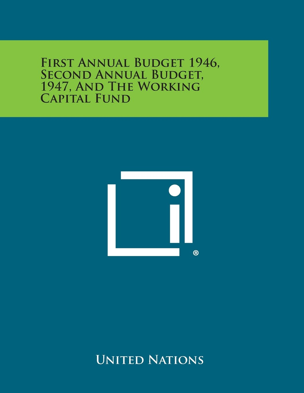 amazon first annual budget 1946 second annual budget 1947 and