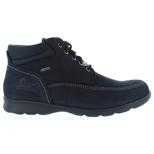 Botines de Hombre PANAMA JACK ALTAMA GTX C4 Nobuck Negro Talla 44: Amazon.es: Zapatos y complementos