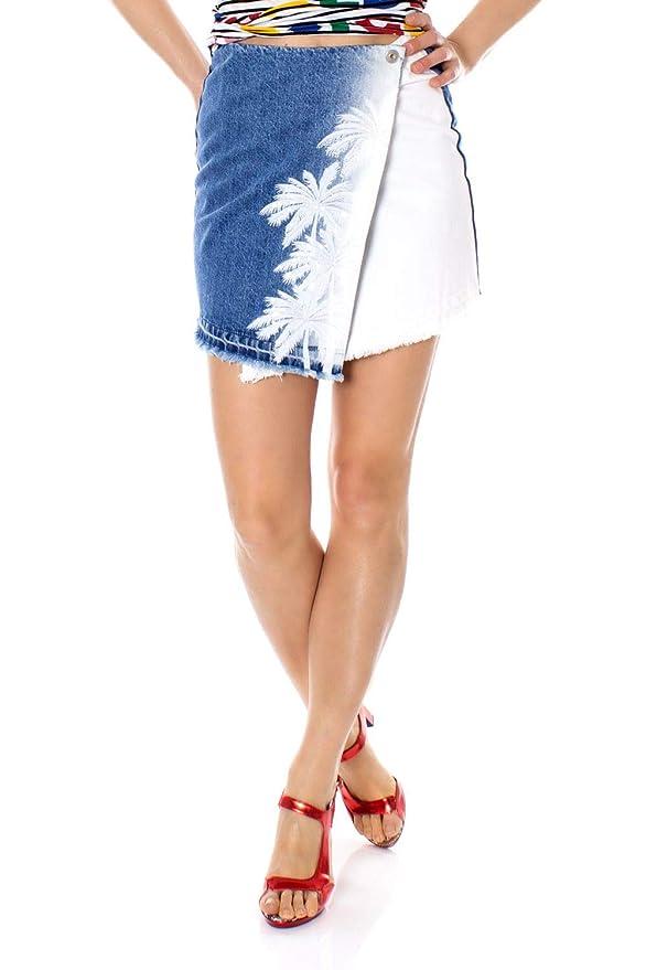 Desigual Luxury Fashion Mujer 19Swfd06blue Azul Falda | Spring ...