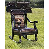Country Road's Black Bear Rocking Chair For Sale