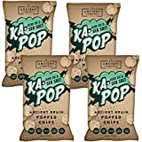 Ka-Pop! | Popped Chips | Olive Oil & Sea Salt | Ancient Grains | Gluten-Free | Non-GMO | Vegan | 3oz (Pack of 4)