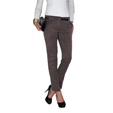 auf Füßen Aufnahmen von zum halben Preis wie man wählt Damen Business Hose aus knitterarmen Stoff in schwarz, grau ...