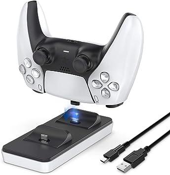 Estación de carga portátil para mandos PS5,