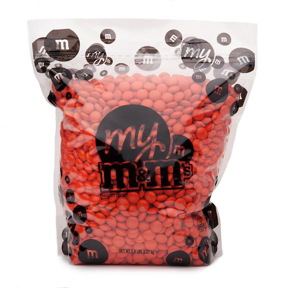 Orange M&M'S Bulk Candy Bag (5lb)