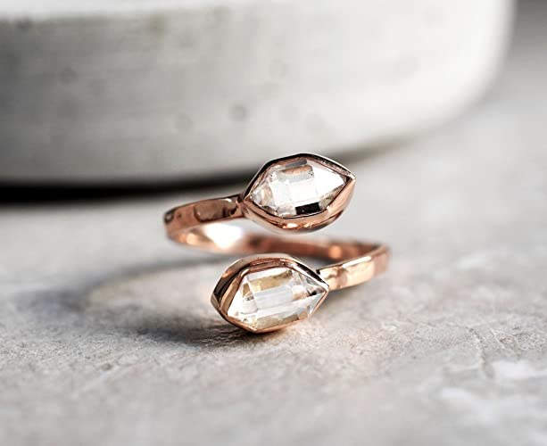 bague diamant de herkimer