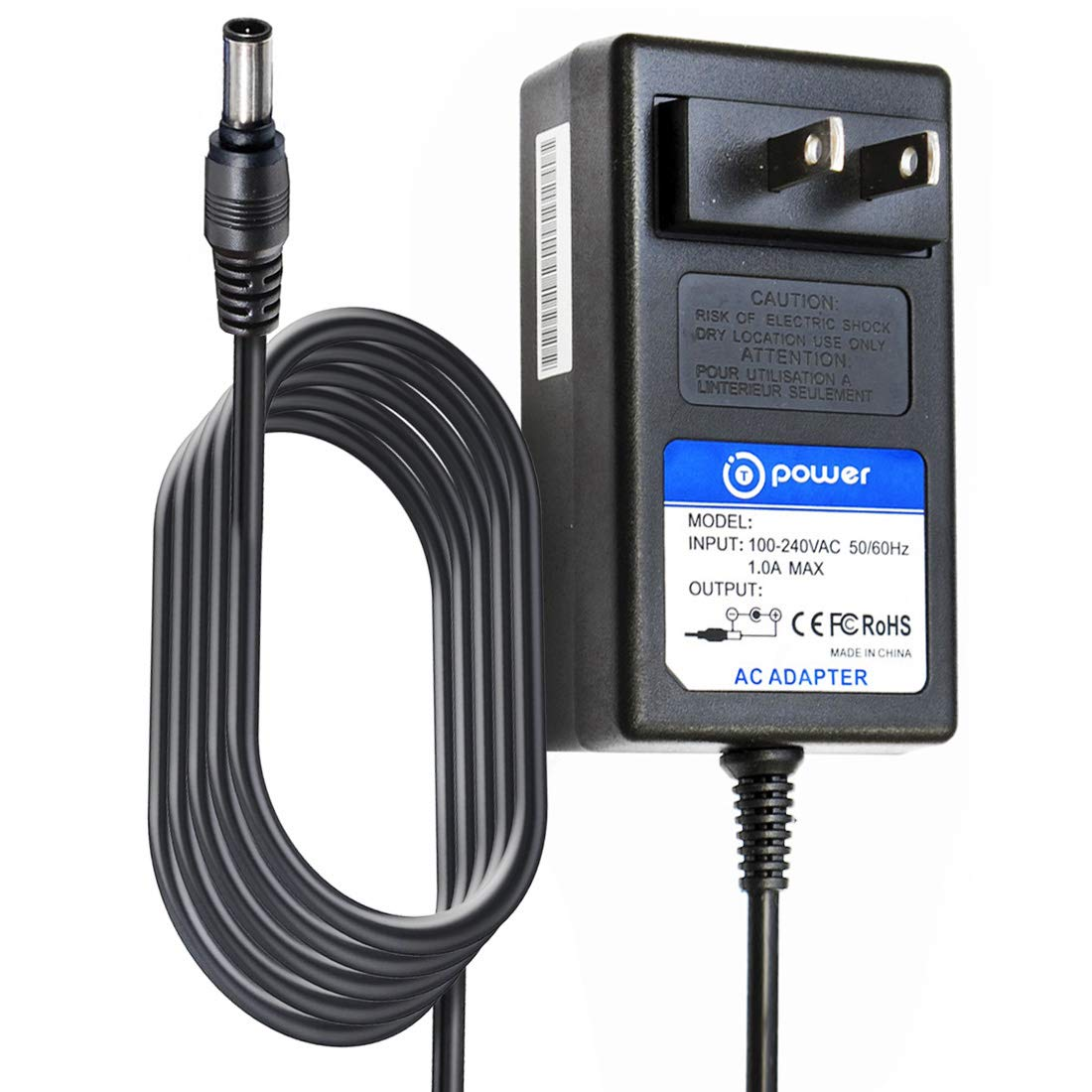 T POWER 12V Ac Dc Adapter Charger Compatible for Casio Privia Digital Piano Keyboard (Supply See Model List in Description) AD-A12150LW ADA12150LW PX, WK, CDP, AP, CTK Series PX130RD BK WE Power