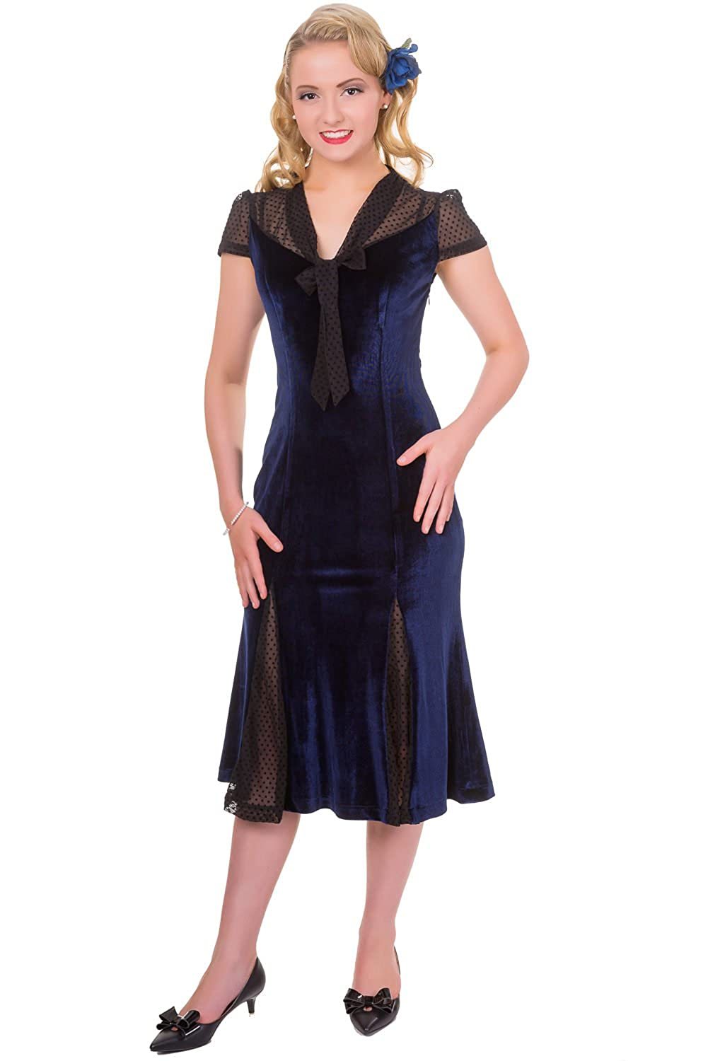 1920s Afternoon Dresses, Tea Dresses Banned Sensation Dress $69.95 AT vintagedancer.com