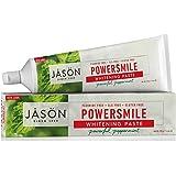 JASON Powersmile Whitening Toothpaste, Powerful Peppermint, 6 oz Each (2 Pack)