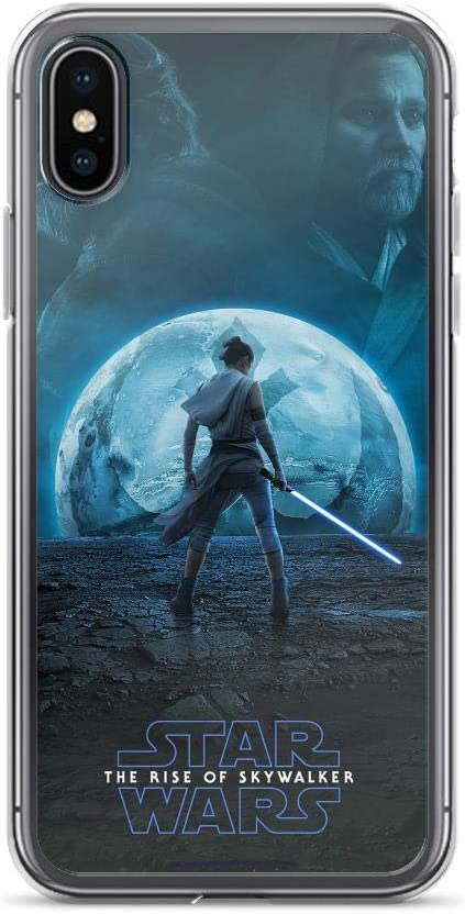 Amazon Com Teemt Compatible With Iphone Xs Max Case Stars Wars Rey Warrior Rise Of Skywalker Galaxy Fantasy Movie Pure Clear Phone Cases Cover Electronics