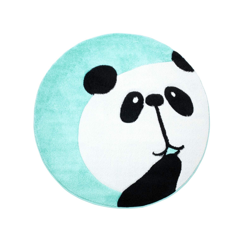 MyShop24 Teppich Kinderteppich mit Panda-Bär Hochwertig Hochwertig Hochwertig in schönem Design in 4 Farben für Kinderzimmer, Farbe Türkis, Größe in cm 160 x 230 cm B07J1Q7QDB Teppiche 4021a4