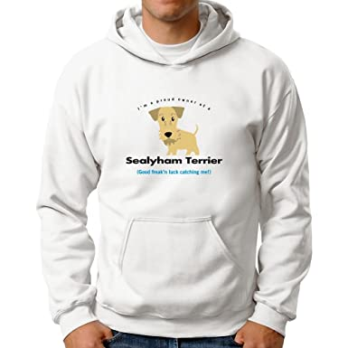 Eddany Im A Proud Owner Of Sealyham Terrier Good Luck Catching Me Hoodie