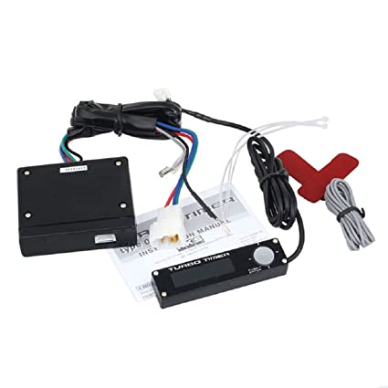 Sandistore Car 12V Universal Digital LCD Display Turbo Timer Relay Controller Set