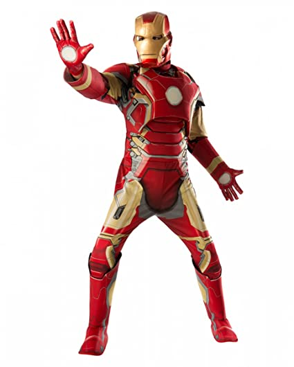 Horror-Shop traje de Iron Man muscular: Amazon.es: Juguetes ...