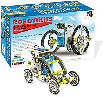 OWI 14-in-1 Educational Solar Robot Kit
