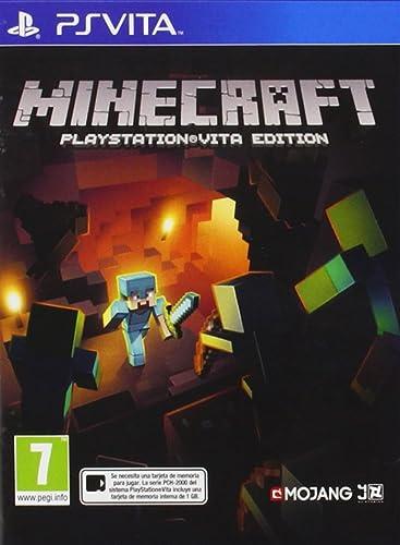 Oferta amazon: Minecraft - Edición Estándar, PlayStation Vita, Disco, Versión 120
