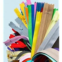 "ZipperStop Wholesale Authorized Distributor YKK® 16/"" Zipper YKK #3 Skirt & Dress Zippers ~ Assortment of Colors (12 Zippers)"