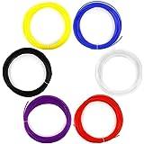 AFUNTA 6PCS 1.75mm 20M / 50G / PCS ABS 3D Print filament pour imprimante 3D Pen