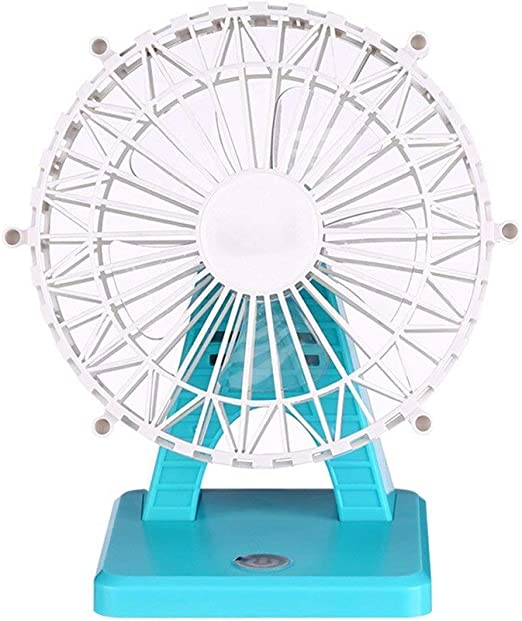 Yyqtfs Ventilador de Mesa pequeño para Oficina, Ventilador de pie ...