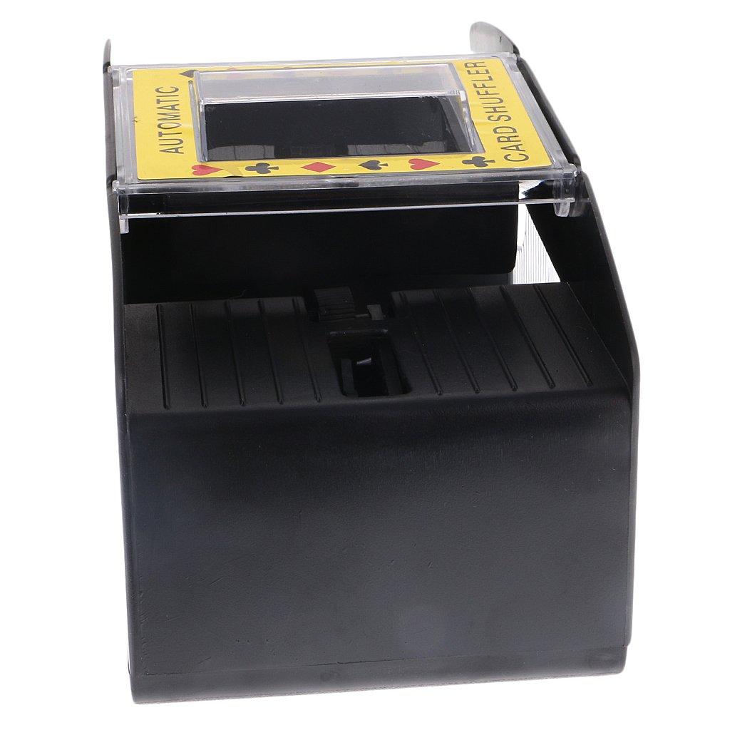 MonkeyJack Professional Automatic Playing Card Games Shuffler Shuffling 1-2 Decks Poker Sorter Mixer Machine for Party Entertainment by MonkeyJack (Image #10)