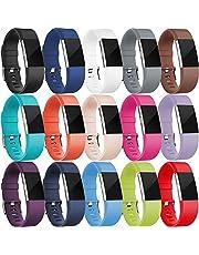 HUMENN Per Fitbit Charge 2 Cinturino, Edizione Speciale Morbido Sportivo di Ricambio in TPE Accessori per Fitbit Charge 2 Braccialetto Grande Piccolo