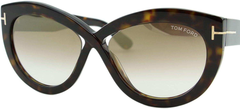 Tom Ford Unisex-Erwachsene FT0577 52G 56 Sonnenbrille - Tom Ford Sonnenbrille Damen