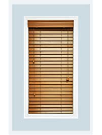 Custom Made, Premium Real Wood Horizontal Window Blinds, 2 Inch Slats,  Inside Part 86