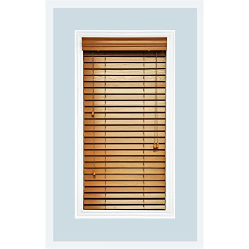 Wood Blinds For Windows Amazon Com